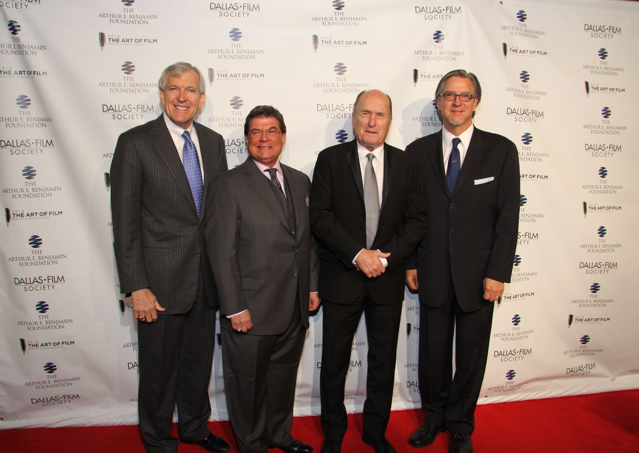 Dallas Mayor Tom Leppert, Arthur E. Benjamin, Robert Duvall, Michael Cain